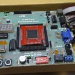 برد آموزشی CPLD های XC95288XL) XILINX) از سری 9500