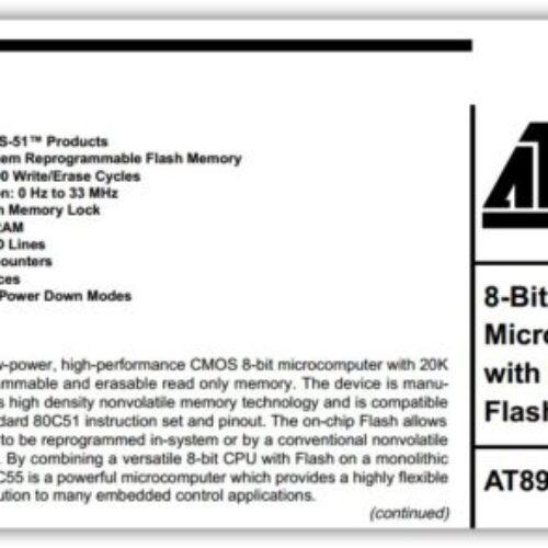 AT89C55-24PC