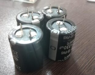 خازن الکترولیتی 330 میکرو فاراد 250 ولت