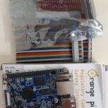 برد اورنج پای pc plus همراه با کابل و برد توسعهGPIO