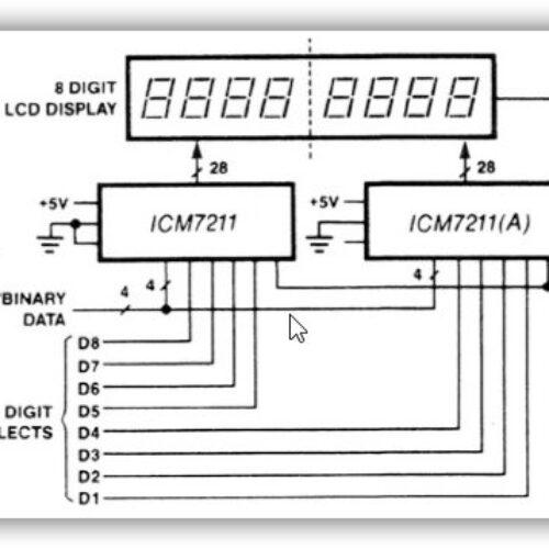 ICM7211 AMIPL
