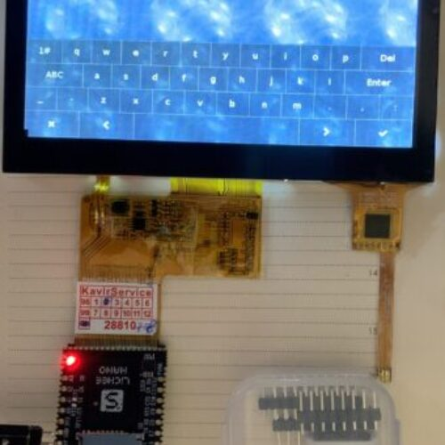 Lichee pi nano + 4.3 inch LCD with capacitive touch