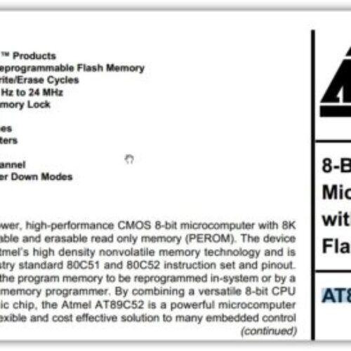 AT89C52-24PC