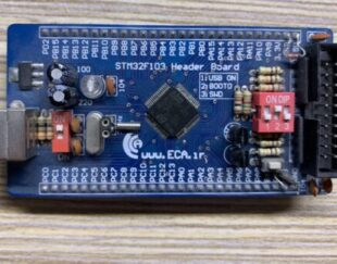 هدربرد – برد راه انداز STM32F103Ret6 Cortex-M3