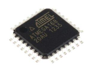 میکروکنترلر ATMEGA168 PA  SMD