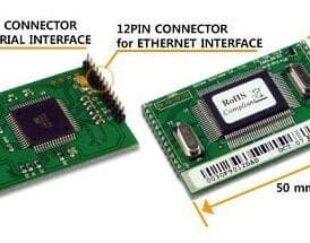 ماژول شبکه – مبدل سریال به شبکه EZL-50L