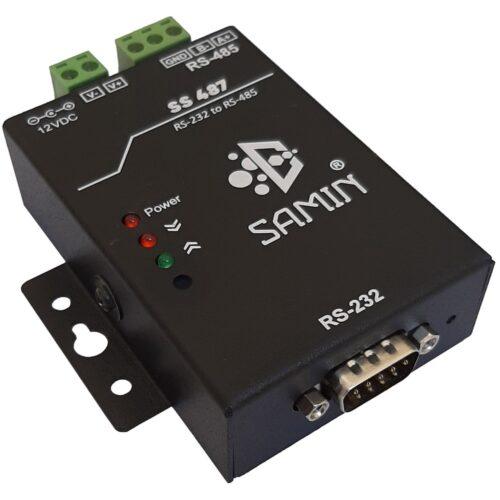 مبدل rs232 به rs485 مدل SS 487 شرکت سمین