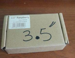 نمایشگر LCD 3.5 اینچ رنگی مخصوص raspberry pi
