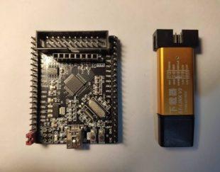 STM32F103C8T6 Header Board + ST-LINK V2