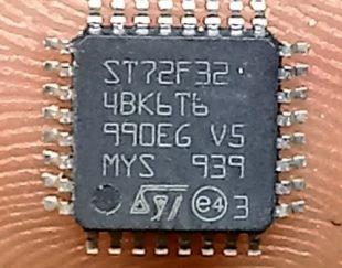 میروکنترولر ST72F32