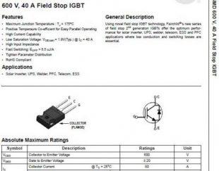FGH40N60SMD IGBT