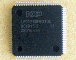 LPC1768FBD100 میکرو arm cortex-m3